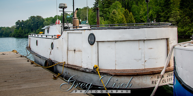Fishing Boats on Lake Superior at Bayfield Wisconsin