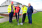 St Nicholas GFC &lsquo;Building for the Future&rsquo; Campaign.<br /> <br /> Fergus O'Dowd TD.  Dessie McDonald Chairperson St Nicholas GFC. Brendan Griffin Minister of State at the Department of Transport, Tourism and Sport turning the sod on the new club house building with St Nicholas GFC Treasurer Pat Clarke <br /> Picture Fran Caffrey / Newsfile.ie<br /> <br /> All photo usage must carry mandatory copyright credit (&copy; Newsfile | Fran Caffrey)<br /> <br /> SEE PRESS RELEASE BELOW &amp; ATTACHED.<br /> <br /> MINISTER BRENDAN GRIFFIN  TURNS THE SOD AT ST. NICHOLAS GFC IN DROGHEDA<br /> Today Wednesday 7 November 2018, Minister of State for Tourism and Sport, Brendan Griffin TD, visited St. Nicholas GFC in Drogheda Co. Louth to launch their &lsquo;Building for the Future&rsquo; Campaign.<br /> About St. Nicholas GFC<br /> St. Nicholas GFC is a progressive GAA club situated along the River Boyne in Drogheda Co. Louth. The club was formed  in December 1977 and has stood its ground and lived through many successes and challenges throughout its 40 year history.<br /> This year, the Chairperson of St. Nicholas, Dessie McDonald, had the foresight to lead the club in a new direction in order to progress and ultimately safeguard the club for its young and dynamic players.<br /> &lsquo;Integration through Gaelic Football&rsquo;<br /> In June 2018, Mr McDonald took the initiative of inviting children from Mosney to take part in the club&rsquo;s weekly Gaelic Football training sessions. The club grounds at Pentony Park on the Rathmullan Road in Drogheda, are neighbouring the main primary and secondary schools attended by many of the children from Mosney which are St. John&rsquo;s National School, St. Paul&rsquo;s National School and St Oliver&rsquo;s Community College. <br /> On any one training evening, the group of up to 50 children from Mosney represented up to 10 different nationalities, playing together with children from the local  community for the one common love of Gaelic Football.  <br /> Following the overwhelming success of &lsquo;Integration through Gaelic Football&rsquo;, Mosney Management sponsored a series of