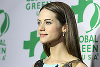 Hollywood, CA - February 22: Lyndsy Fonseca, At 14th Annual Global Green Pre Oscar Party, At TAO Hollywood In California on February 22, 2017. Credit: Faye Sadou/MediaPunch
