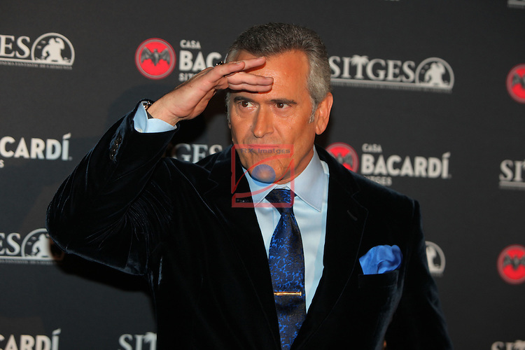 Premi Bacardi Sitges a l'Esperit Indomable 2016.<br /> Bruce Campbell.