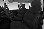 Front seat view of 2017 Chevrolet Silverado-1500 LT-Z71-Crew 4 Door Pick-up Front Seat  car photos