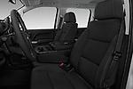 Front seat view of 2017 Chevrolet Silverado-1500 LT-Z71-Crew 4 Door Pick-up Front Seat  car photos