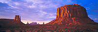 Storm Seen from Valley Floor, Monument Valley Tribal Park, Arizona / Utah