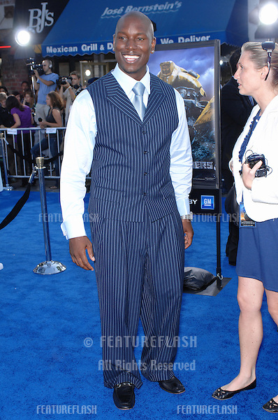 "Tyrese Gibson at the Los Angeles premiere of his new movie ""Transformers""..June 28, 2007  Los Angeles, CA.Picture: Paul Smith / Featureflash"