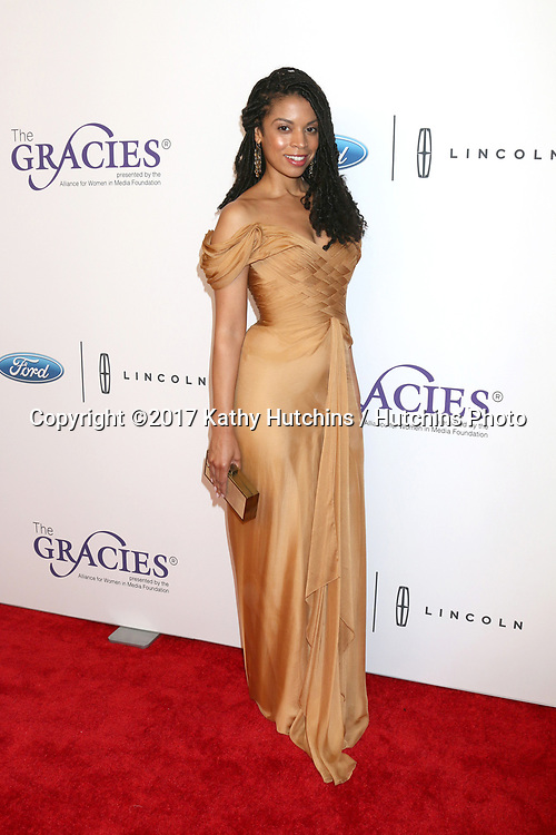 LOS ANGELES - JUN 6:  Susan Kelechi Watson at the 42nd Annual Gracie Awards at the Beverly Wilshire Hotel on June 6, 2017 in Beverly Hills, CA