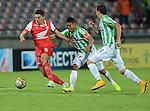 Medellin , el conjunto deSanta Fese impuso 1-0 ante el equipode Nacional , en la última fecha de los cuadrangulares por el Grupo B.