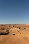 """Israel, Negev. The """"Oil Road"""" in Ramon crater"""