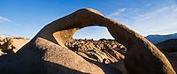 Mobius arch at Alabama Hills, near Lone Pine, California
