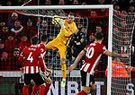 Dean Henderson of Sheffield Utd during the Premier League match at Bramall Lane, Sheffield. Picture date: 5th December 2019. Picture credit should read: Simon Bellis/Sportimage