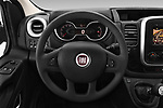 Car pictures of steering wheel view of a 2017 Fiat Talento Pack 4 Door Cargo Van Steering Wheel