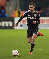 DC United defeated the LA Galaxy 1-0 with a stoppage time goal from Chris Pontius at RFK Stadium in Washington DC.