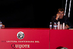 24.04.2012. XVI continued reading of Don Quixote at the Circulo de Bellas Artes in Madrid. In the image the actor Toni Canto, UPyD deputy in the Congress of Deputies (Alterphotos/Marta Gonzalez)