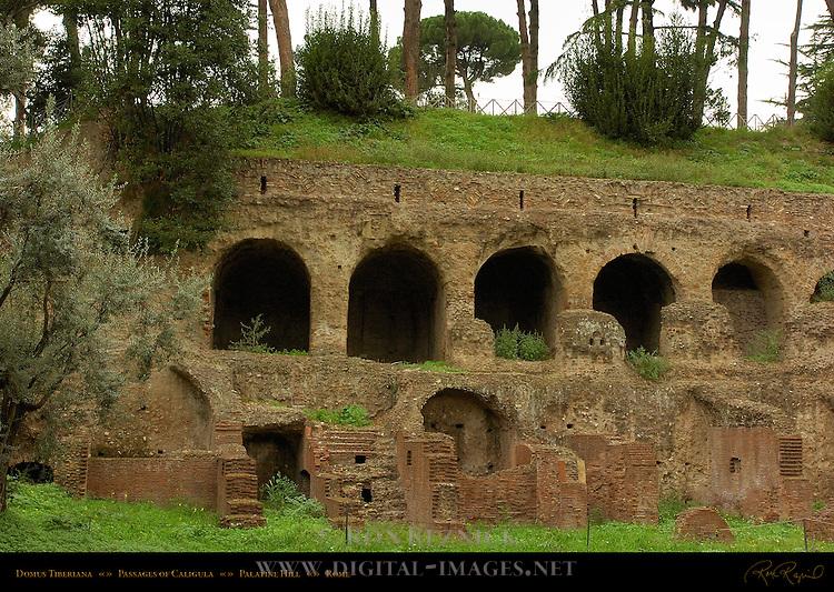 Domus Tiberiana Entrances to Passages of Caligula Palatine Hill Rome