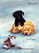 GIORDANO, CHRISTMAS ANIMALS, WEIHNACHTEN TIERE, NAVIDAD ANIMALES, paintings+++++,USGI2547,#XA#