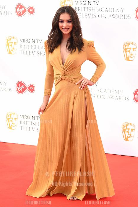 Amy Jackson arriving for the BAFTA TV Awards 2018 at the Royal Festival Hall, London, UK. <br /> 13 May  2018<br /> Picture: Steve Vas/Featureflash/SilverHub 0208 004 5359 sales@silverhubmedia.com