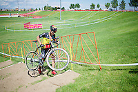 Sven Nys (BEL/Crelan-AADrinks) checks out the <br /> Cross Vegas 2014 course for the very first time (1 day ahead of the race)