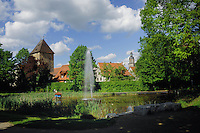 Fountain pond at Altdorf