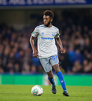 Beni Baningime of Everton during the Carabao Cup round of 16 match between Chelsea and Everton at Stamford Bridge, London, England on 25 October 2017. Photo by Andy Rowland.