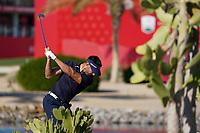 Alvaro Quiros (ESP) on the 9th during the 1st round of the Abu Dhabi HSBC Championship, Abu Dhabi Golf Club, Abu Dhabi,  United Arab Emirates. 16/01/2020<br /> Picture: Fran Caffrey | Golffile<br /> <br /> <br /> All photo usage must carry mandatory copyright credit (© Golffile | Fran Caffrey)