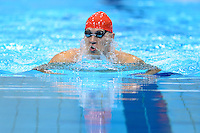 PICTURE BY ALEX BROADWAY /SWPIX.COM - 2012 London Paralympic Games - Day Ten - Swimming, Aquatic Centre, Olympic Park, London, England - 08/09/12 - Uladzimir Izotau of Belarus competes in the Men's 100m Breaststroke SB12 Heats.