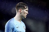 Manchester City's John Stones<br /> <br /> Photographer Rich Linley/CameraSport<br /> <br /> Emirates FA Cup Fourth Round - Manchester City v Burnley - Saturday 26th January 2019 - The Etihad - Manchester<br />  <br /> World Copyright © 2019 CameraSport. All rights reserved. 43 Linden Ave. Countesthorpe. Leicester. England. LE8 5PG - Tel: +44 (0) 116 277 4147 - admin@camerasport.com - www.camerasport.com