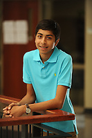 NWA Democrat-Gazette/ANDY SHUPE<br /> Sojas Wagle, a sophomore at Har-Ber High School, won the 2017 World Brain Bee Championship. The competition was founded by Norbert Myslinski of the University of Maryland as a neuroscience competition for young scientists 13 to 19 years of age to encourage the study of the brain.