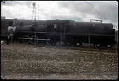 Side view of D&amp;RGW #169 T-12 and tender on display at Alamosa.<br /> D&amp;RGW  Alamosa, CO