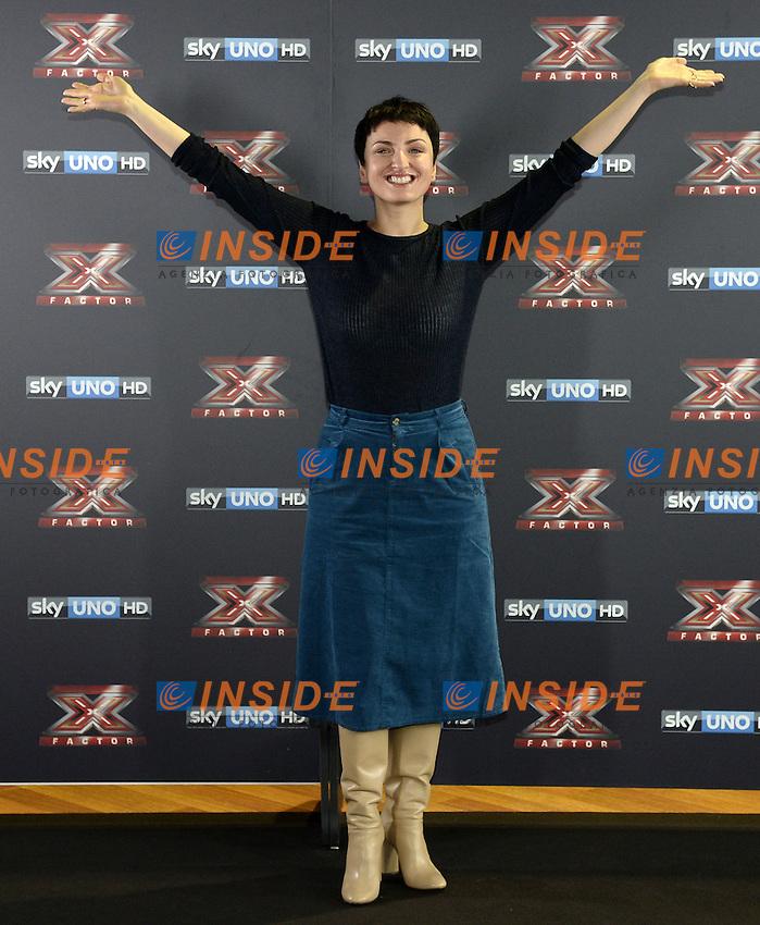Db Milano 26/10/2016 - photocall trasmissione Tv 'X-Factor' / foto Daniele Buffa/Image/Insidefoto <br /> nella foto: Arisa
