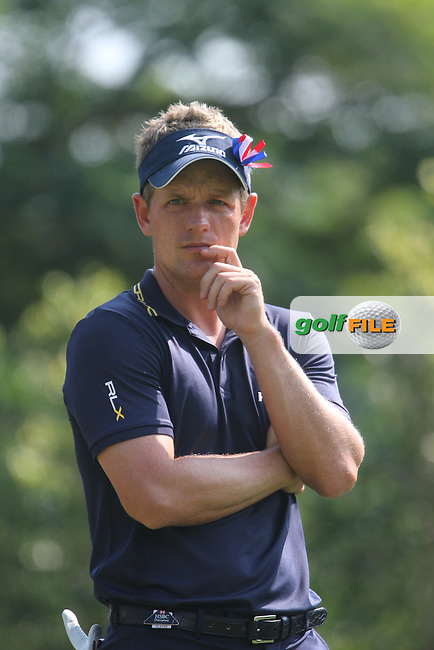 Luke Donald (ENG) on the 5th on Day 4 of the 2012 HSBC Champions, Mission Hills Golf Club, Shenzhen, China. 4/11/12..(Photo www.golffile.ie)