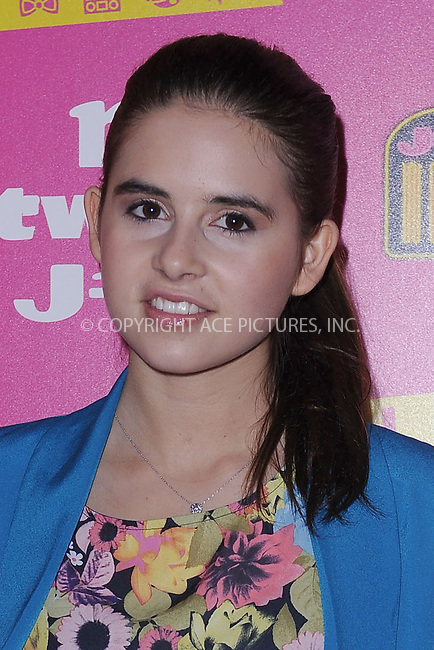 WWW.ACEPIXS.COM . . . . . .March 19, 2013...New York City....Carly Rose Sonenclar attends the US debut of Little Mix at the Hard Rock Cafe in Times Square on March 19, 2013 in New York City. ....Please byline: KRISTIN CALLAHAN - WWW.ACEPIXS.COM.. . . . . . ..Ace Pictures, Inc: ..tel: (212) 243 8787 or (646) 769 0430..e-mail: info@acepixs.com..web: http://www.acepixs.com .