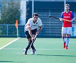 AMSTELVEEN - Valentin Verga (Adam)  tijdens  de hoofdklasse competitiewedstrijd hockey heren,  Amsterdam-SCHC (3-1).  COPYRIGHT KOEN SUYK