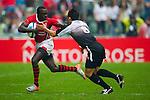 Kenya play China in a Shield semi final on Day 3 of the 2011 Cathay Pacific / Credit Suisse Hong Kong Rugby Sevens, Hong Kong Stadium.