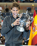 Rafael Nadal, (ESP) Defeats Novak Djokovic (SRB) In Men's Final, 6-2, 3-6, 6-4, 6-1