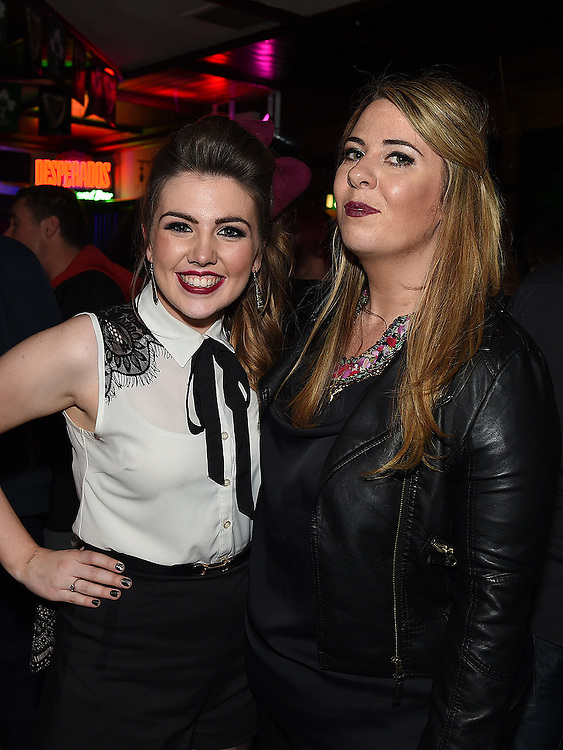 Katie Anna Mohan and Sam McGrane pictured at the launch of the Alice Turner charity CD in McPhail's. Photo:Colin Bell/pressphotos.ie