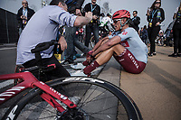 Nils Politt (GER/Katusha Alpecin) post race<br /> <br /> 103rd Ronde van Vlaanderen 2019<br /> One day race from Antwerp to Oudenaarde (BEL/270km)<br /> <br /> ©kramon