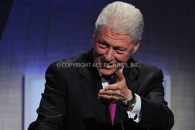 WWW.ACEPIXS.COM . . . . . ....September 22 2009, New York City....Former President Bill Clinton at the Clinton Global Initiative at the Sheraton Hote on September 22, 2009 in New York City....Please byline: KRISTIN CALLAHAN - ACEPIXS.COM.. . . . . . ..Ace Pictures, Inc:  ..tel: (212) 243 8787 or (646) 769 0430..e-mail: info@acepixs.com..web: http://www.acepixs.com