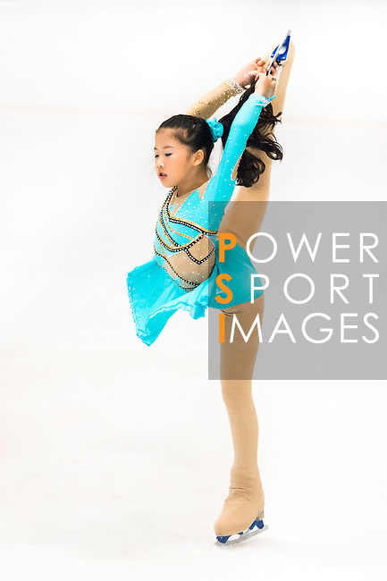 Chia Hsin Shih of Chinese Taipei competes during the Asian Junior Figure Skating Challenge Hong Kong 2016 at Kowloon Tong's Festival Walk Glacier on 03 October 2016, in Hong Kong, China. Photo by Marcio Machado / Power Sport Images