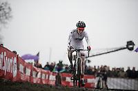 World Cup Leader Sanne Cant (BEL/Enertherm-BKCP)<br /> <br /> Grand Prix Adrie van der Poel, Hoogerheide 2016<br /> UCI CX World Cup