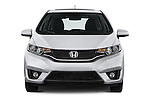 Car photography straight front view of a 2017 Honda Fit EX 5 Door Hatchback Front View