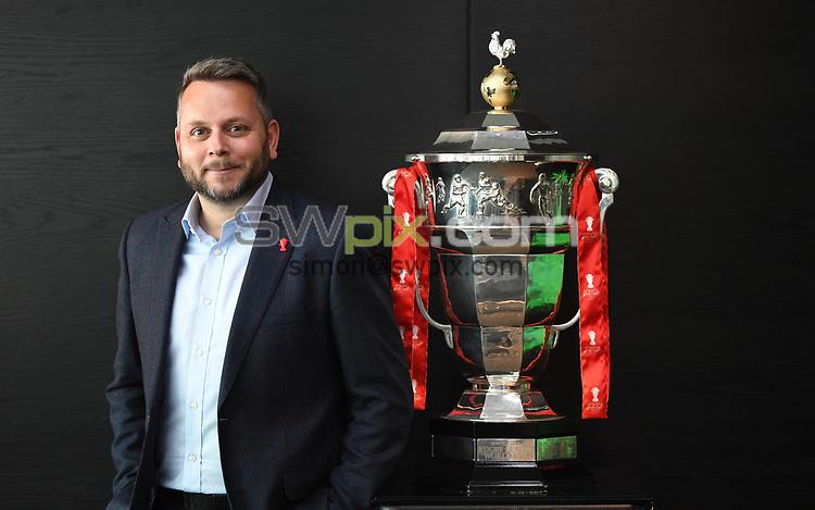 Picture by Simon Wilkinson/SWpix.com - 30/04/2019 - Rugby League RLWC2021 - Deloitte Partnership Deloitte Offices Manchester Jonathan Neill