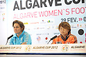 Algarve Women's Football Cup 2012: Press Conference