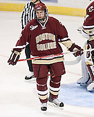 Anthony Aiello - The Boston College Eagles defeated the Miami University Redhawks 5-0 in their Northeast Regional Semi-Final matchup on Friday, March 24, 2006, at the DCU Center in Worcester, MA.