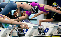 Madie Falconer (100m free) in action during the Swimming New Zealand Short Course Championships,Owen G Glenn National Aquatic Centre, Auckland, New Zealand, Saturday October 2017. Photo: Simon Watts/www.bwmedia.co.nz