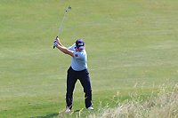 Paul Dunne (IRL) on the 12th fairway during Round 3 of the HNA Open De France at Le Golf National in Saint-Quentin-En-Yvelines, Paris, France on Saturday 30th June 2018.<br /> Picture:  Thos Caffrey | Golffile