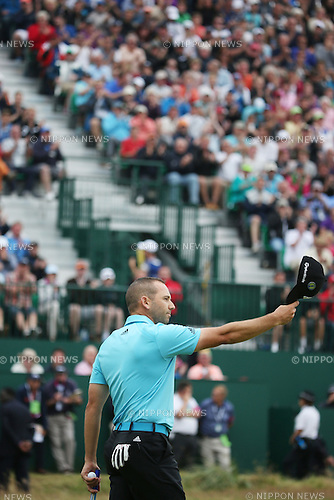 Sergio Garcia (ESP), JULY 20, 2014 - Golf : Sergio Garcia of Spain reacts on the 18th hole during the final round of the 143rd British Open Championship at Royal Liverpool Golf Club in Hoylake, England. (Photo by Koji Aoki/AFLO SPORT) [0008]