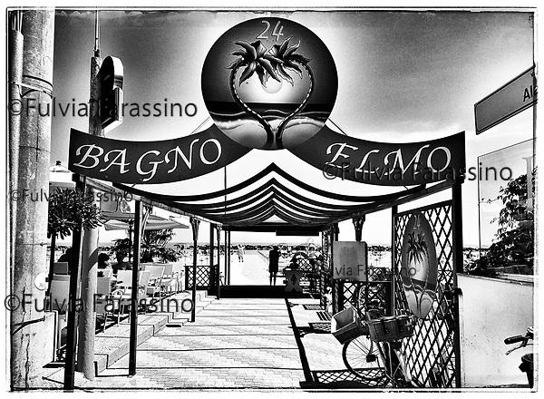 Bellaria, Bagno Elmo, maggio 2017