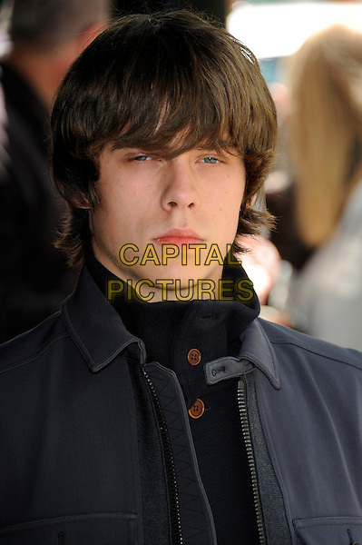 Jake Bugg.58th annual Ivor Novello songwriting and composing awards, Grosvenor House, London, England, UK, 16th May 2013..portrait headshot navy blue high neck jacket .CAP/CJ.©Chris Joseph/Capital Pictures.