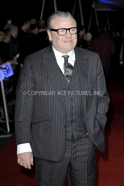 WWW.ACEPIXS.COM<br /> <br /> February 16 2015, New York City<br /> <br /> Ray Winstone at the world premiere of 'The Gunman' at the BFI Southbank on February 16 2015 in London<br /> <br /> By Line: Famous/ACE Pictures<br /> <br /> <br /> ACE Pictures, Inc.<br /> tel: 646 769 0430<br /> Email: info@acepixs.com<br /> www.acepixs.com