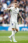 Real Madrid's Toni Kroos during La Liga match. February 18,2017. (ALTERPHOTOS/Acero)