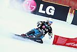 10.03.2012, La Molina, Spain. LG Snowboard FIS Wolrd Cup 2011-2012. Men's parallel giant slalom. Picture show Stanislav Detok RUS
